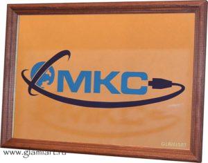 Дизайн-табло на зеркале МКС