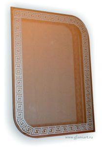 Зеркало с орнаментом Версаче