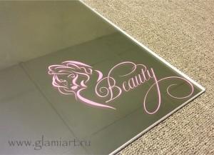 Изготовление зеркал с декором
