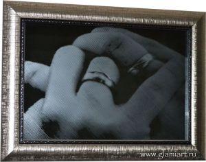 Картина на зеркале Кольца