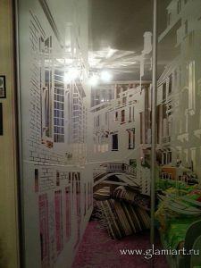 Ремонт зеркала в шкафу-купе