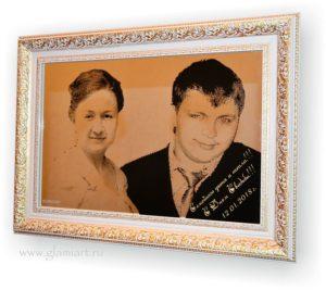 Портрет на зеркале Свадьба