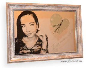 Портрет на серебряном зеркале Дочка