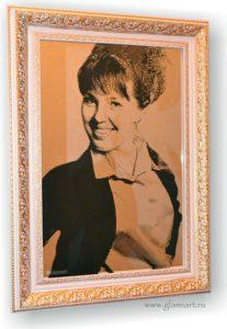 Портрет на зеркале Бизнес-леди