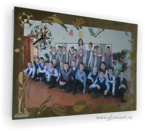 Фоторамка-часы Одноклассники