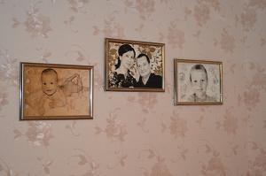 Портрет по фото на зеркале - галерея