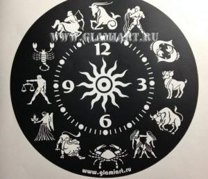 Трафарет для часов на зеркале Зодиак