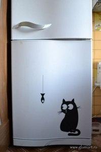 Наклейка-холодильник