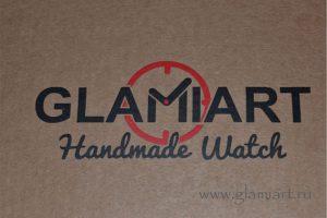 Логотип для настенных часов ручной работы