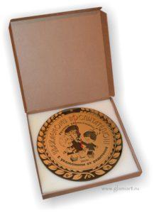 Подарочная упаковка Часов зеркальных GLAMIART