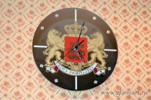Настенные часы на зеркале Грузия