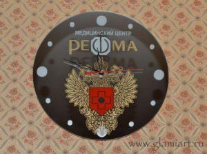 Часы на зеркале Решма