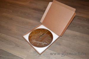Упаковка зеркальных часов GLAMIART