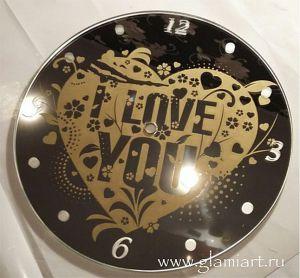Зеркальный циферблат для часов