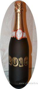 Поздравительная бутылка С новым годом