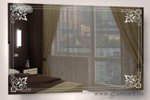 Зеркало с подсветкой Идилия