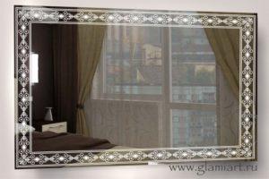Зеркало с подсветкой Нежность