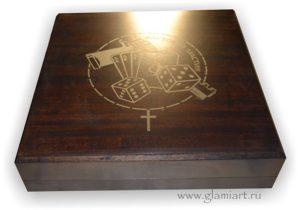 Набор крестики-нолики ящик