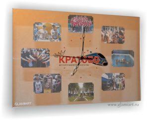 Часы-фоторамка на зеркале Кратово