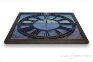 Настенные часы Арарат из Дерева и стекла