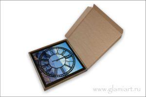 Часы настенные GLAMIART в подарочной упаковке