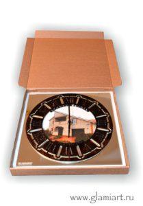Часы настенные GLAMIART - подарочная упаковка