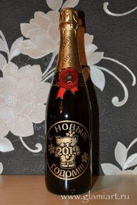 Подарочные бутылки с алкоголем