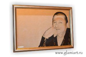Портрет на зеркале Мужчина