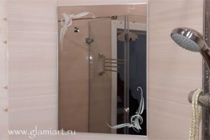 Зеркало в ванну GLAMIART