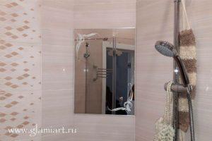 Декоративное зеркало в ванну GLAMIART