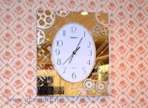 Подарочные настенные часы на зеркале