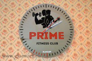Часы на зеркале PRIME